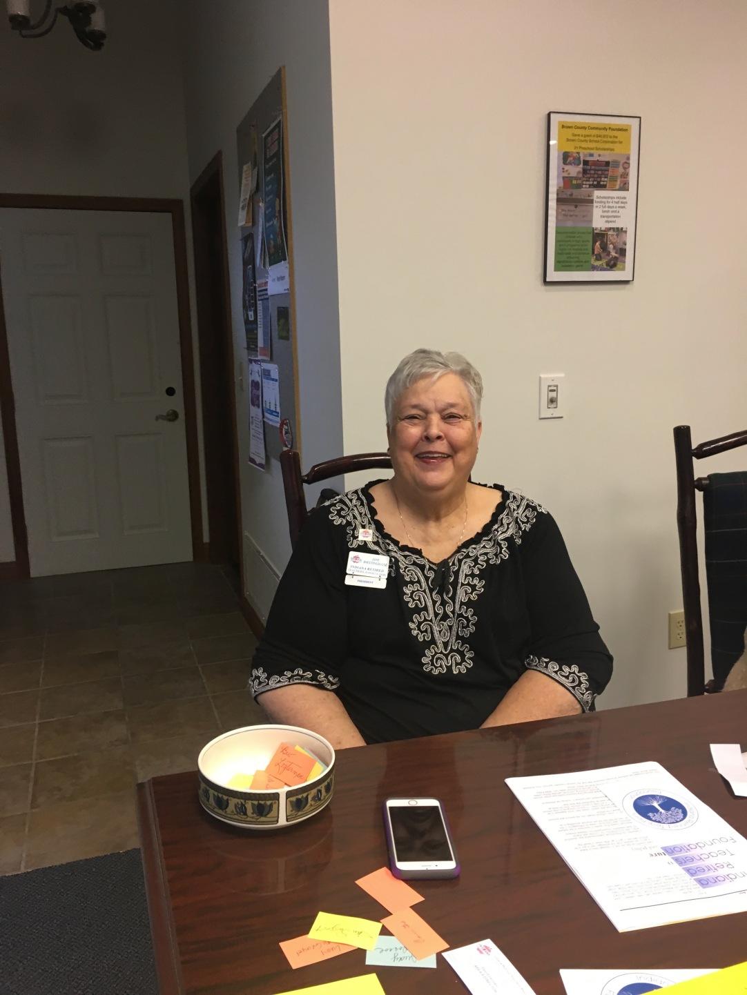 IRTA President Jane Boultinghouse from Spencer County